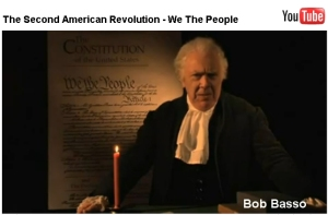 Bob Basso returns the author to modern times to plea for a second revolution to take back America, Now!