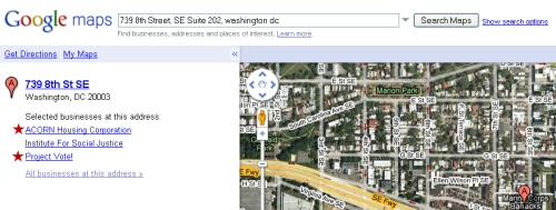 739 8th Street, SE Suite 202, washington dc