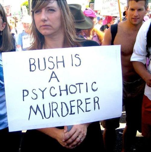 Bush_Protest